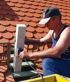 Bauwerksuntersuchungen Holz, Beispiel Dachstuhl, Fachwerk, Masten