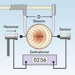 Messprinzip IML Micro Hammer