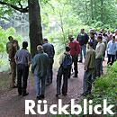 Rückblick Baum- und Bodenseminar Jena 2011, Workshop Stammfaule Bäume